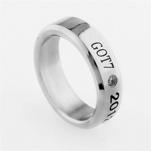 KPOP GOT7 Ring Titanium Steel 7 FOR 7 Finger Ring JB Jackson Mark Bambam Jewelry Accessories for Men and Women Female Male(China)