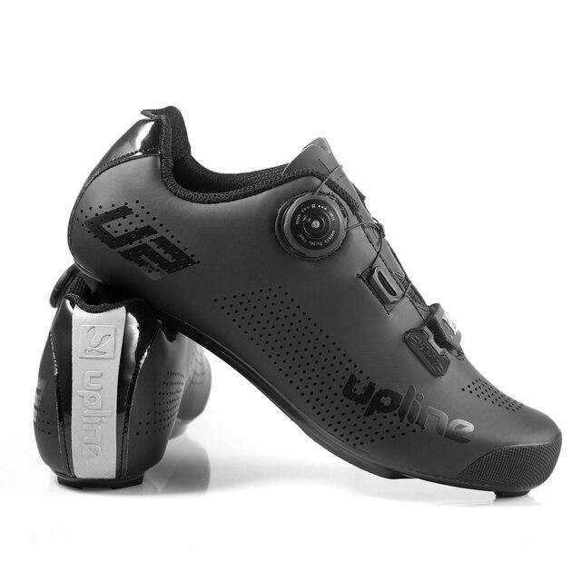 Sapatos masculinos para ciclismo de estrada, protetor de sapatos ultraleve para bicicleta adulto e de estrada, 2020 upline 6
