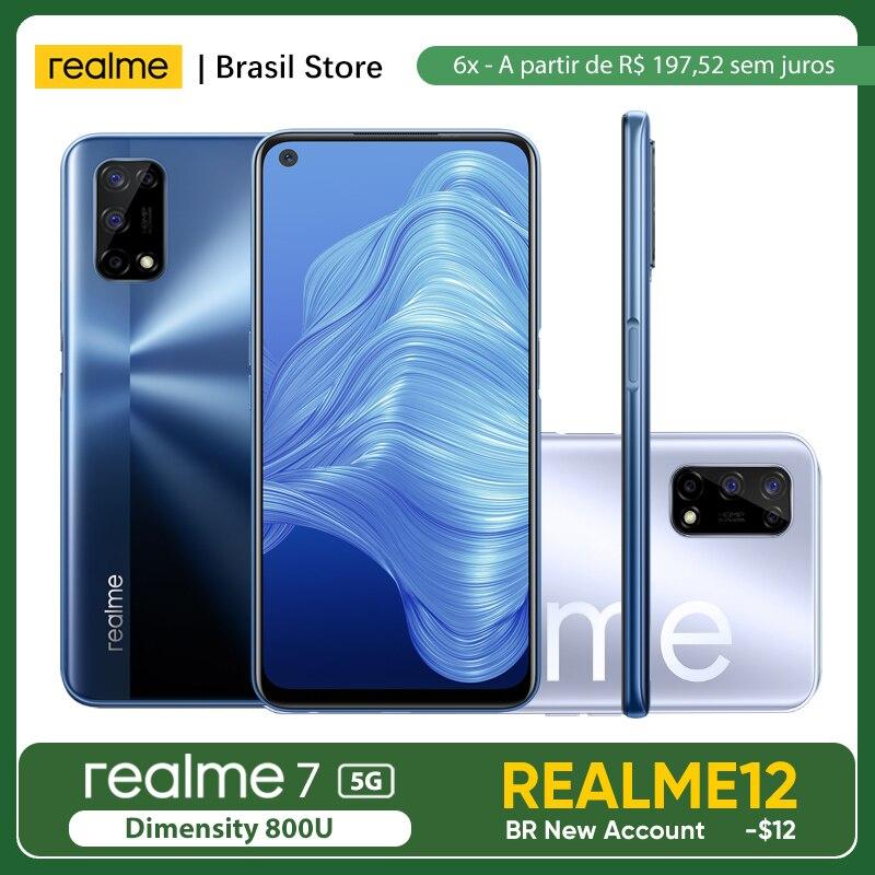 Смартфон realme 7 5G 6 ГБ ОЗУ 128 Гб ПЗУ-30 Вт Дротика зарядка   Массивный аккумулятор 5000 мАч   Ультра гладкий дисплей 120 Гц
