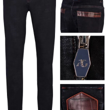 Jeans Winter BILLIONAIRE Casual Men High-Quality Cotton New British Business Thick Comfortable