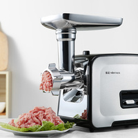 Electric Meat Grinder Meat Machine Household Multifunction Stir Enema Mincemeat Stainless Steel 400w High Power