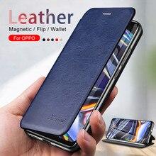 Custodia in pelle magnetica per realme 7 6 5 pro 6i 6s 5i 5s x x2 xt realme7 coque realmy 7pro 6pro 5pro portafoglio porta telefono