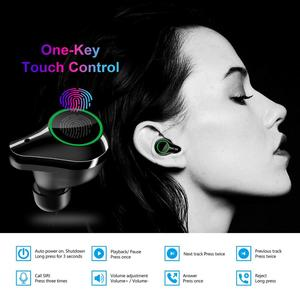 Image 4 - T10 Tws Earphones Wireless Headphone Bluetooth 5.0 Sport Touch Control Wireless Headsets Power Display Earbuds With Charging BOX