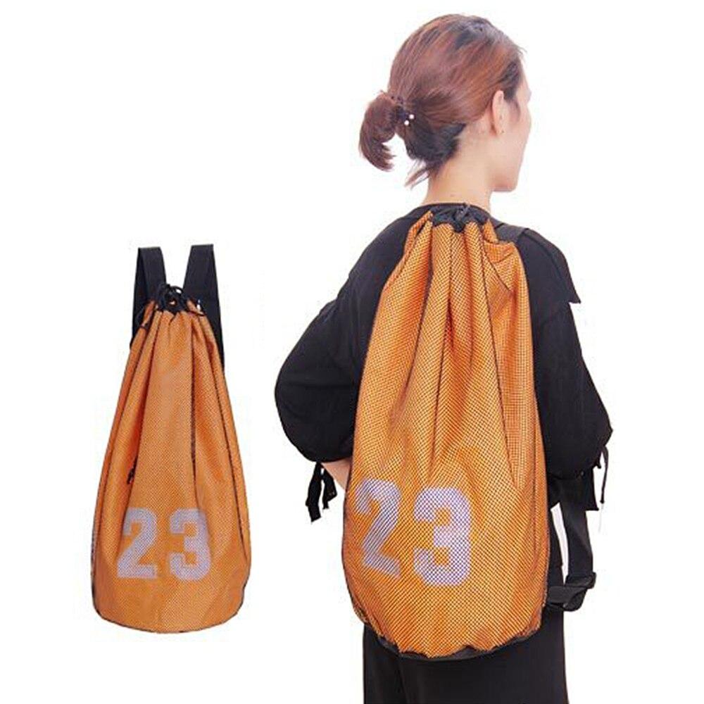 Basketball Bag Drawstring Mash Backpack Fitness Bucket Bag Outdoor Basketball Backpack Sports Equipment Bag