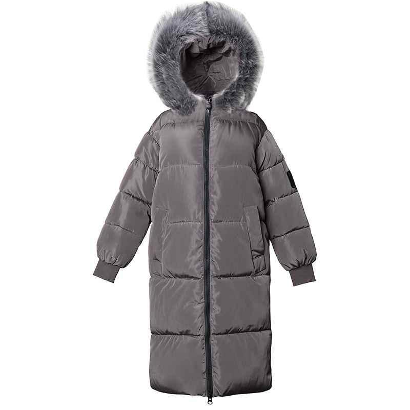 Новинка 2019, модная зимняя куртка для женщин, большие размеры 7XL, верхняя одежда, искусственный Лисий мех, зимние пуховые пальто с капюшоном, женские теплые длинные парки