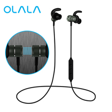 Bluetooth Wireless Headphones Magnetic Sport Earphones Sweatproof CVC6 Lossless Stereo Earbuds Noise Cancelling Headset with Mic