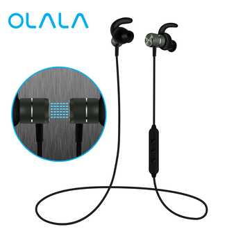 bluetooth wireless sport earphones stereo magnet earbuds sweatproof headphones neckband headset with microphone for mobile phone Bluetooth Wireless Headphones Magnetic Sport Earphones Sweatproof CVC6 Lossless Stereo Earbuds Noise Cancelling Headset with Mic