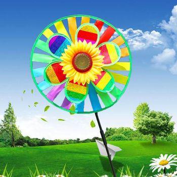 2020New dzieci zabawki dwuwarstwowy wiatrak słonecznikowy kolorowy wiatraczek wystrój ogrodu wystrój ogrodu trójwymiarowy wiatrak tanie i dobre opinie Tkaniny 3 lat WHITE Black green Czerwony Szary Niebieski Żółty Różowy Fioletowy Światło żółty Sport Unisex Pojedynczy akapit