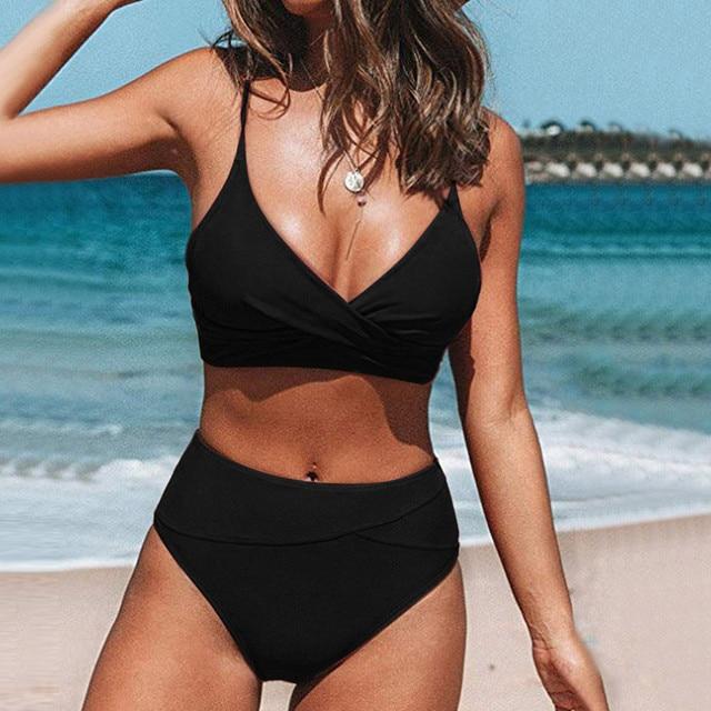 2021 Women Sexy Bikini Set Push Up Female Swimsuit Swimwear Swim Separate Two Piece Brazilian Bathing Suit Large Plus Size Xxl 1
