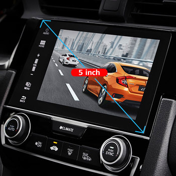 5inch 9H Car DVD Protective Films Mp5 Tempered Glass Skins GPS Screen Protector Anti-Fingerprint Navigation Clear image