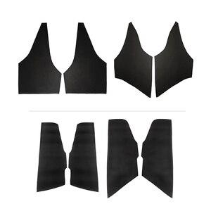 Image 2 - For Toyota Corolla 2007 2008 2009 2010 2011 2012 2013 2pcs/set Car Door Handle Panel Armrest Microfiber Leather Cover