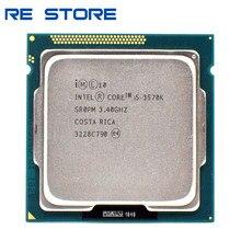 Б/у Intel Core i5 3570K 3,4 ГГц 6 Мб 5.0GT/s SR0PM LGA 1155 Процессор процессор