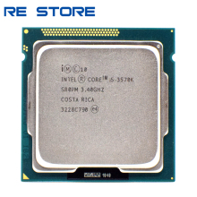 used Intel Core i5 3570K 3.4GHz 6MB 5.0GT/s SR0PM LGA1155 CPU Processor