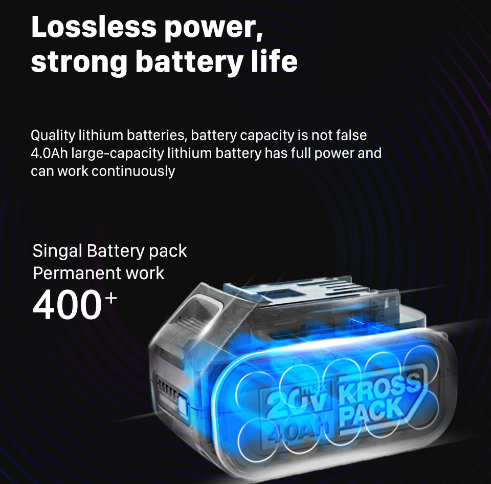 WORX Lossless Power  Single Battery Pack