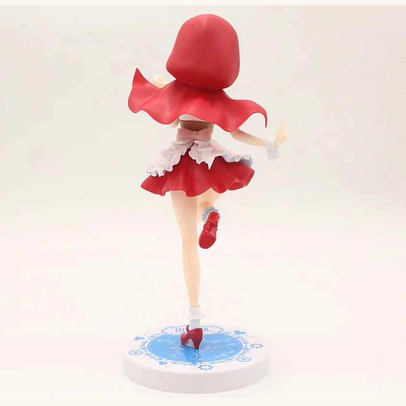 Anime japonés 20 CM Re: la vida en un mundo diferente de Zero Ram figura red hat Rem figura de acción coleccionable decoración modelo de juguete