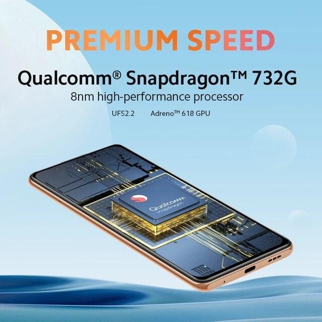 Global Version Xiaomi Redmi Note 10 Pro 6GB 64GB/128GB Smartphone 108MP Quad Camera Snapdragon 732G 120Hz AMOLED Display NFC 4
