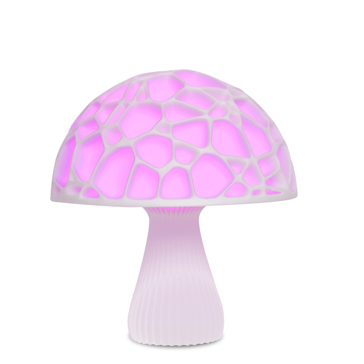 Usb Rechargeable 3D Printed Mushroom Light 16Colors Remote 3D Night Lamp For Light Decoration Lamp Night Light Desk Gift Lamp