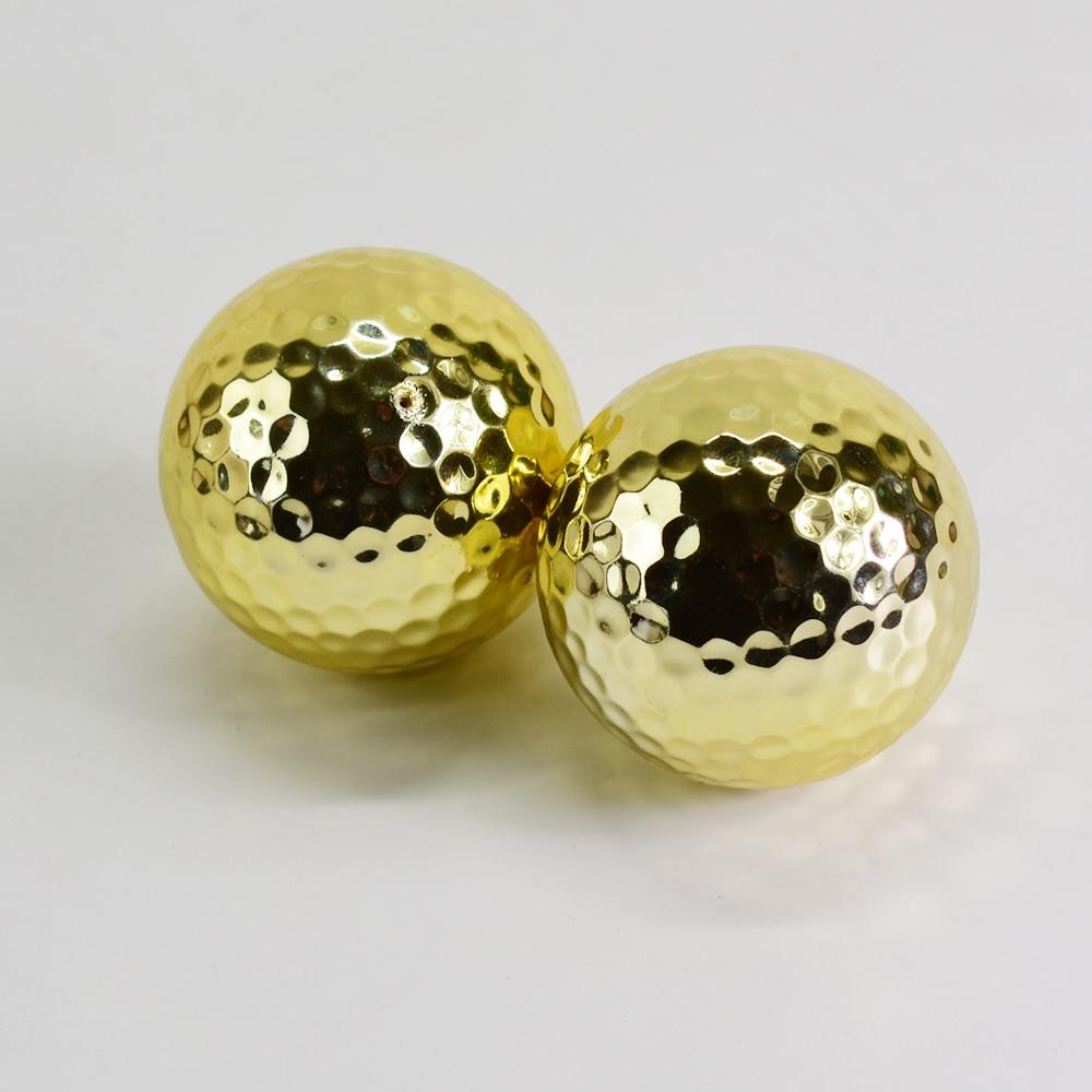 Unikatne srebrne zlate žogice za golf za vadbene žoge za golf v - Golf - Fotografija 6