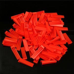 Image 3 - 300pcs פלסטיק קרמיקה פילוס מערכת 200 קליפים + 100 טריזי ריצוף ריצוף כלים טריזי קליפים