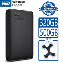 Disk Storage-Device Computer Wd-Elements External-Hard-Drive Portable HD SATA Usb-3.0