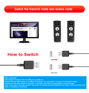 Image 5 - Nuevo transmisor receptor de Audio Bluetooth 5,0 Mini 3,5mm AUX Jack Transmisor estéreo Bluetooth para TV ordenador adaptador inalámbrico para coche