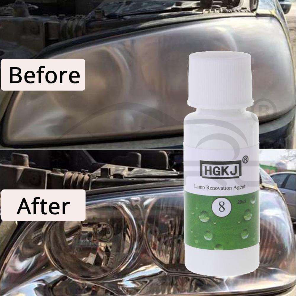 20ml/50ml New Applicable Styling Lens Restoration Headlight Brightening Headlight Repair Washing Accessories Headlight Cleaner