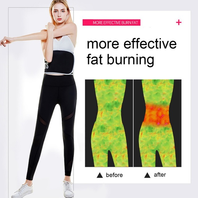 Summer Waist Trimmer Belt Sweat Wrap Tummy Stomach Weight Loss Fat Slimming Exercise Belly Body Beauty Waist Support 4