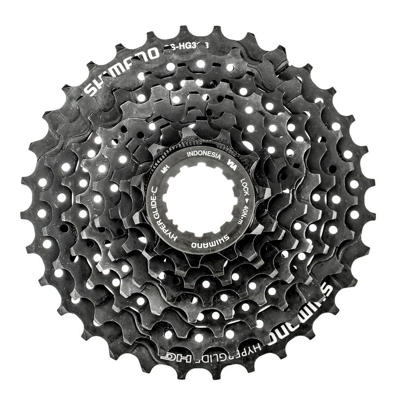<font><b>SHIMANO</b></font> CS <font><b>HG31</b></font>-<font><b>8</b></font> Cassette Free Wheel Bicycle Derailleur System MTB Mountain Bike Accessory Component PARTS image