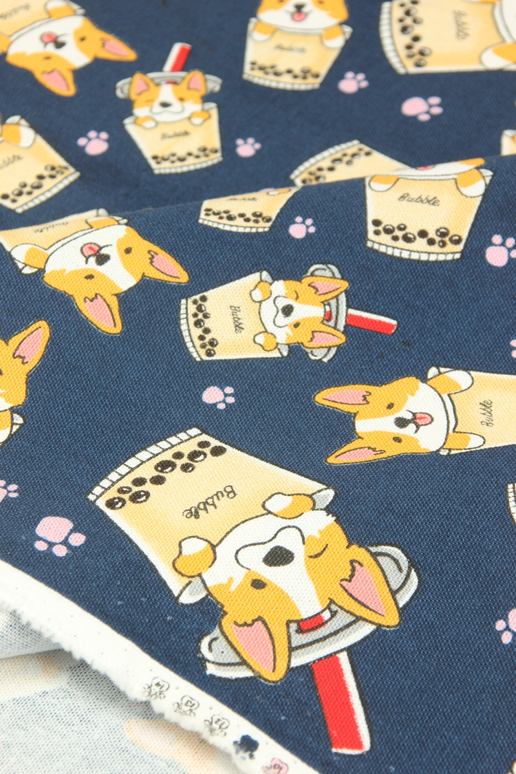 Thick Cotton Fabric 006