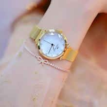 Rhinestone Rose Gold Watches Women Top Brand Quartz Watches Ladies Crystal Luxury Female Wrist Watch Girl Clock Relogio Feminino цена