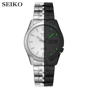 Image 2 - セイコー腕時計メンズ 5 自動時計を高級ブランド防水スポーツメンズ腕時計セットメンズ腕時計防水時計レロジオmasculino
