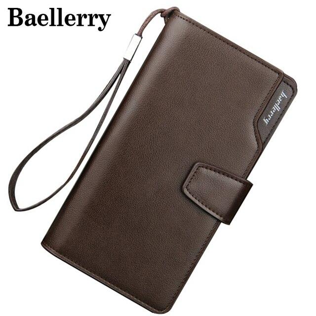 Baellerry Long Wallet Men Zipper Purse for Men Coin Purses Clutch Male Wallets portefeuille homme MWS002-4 2