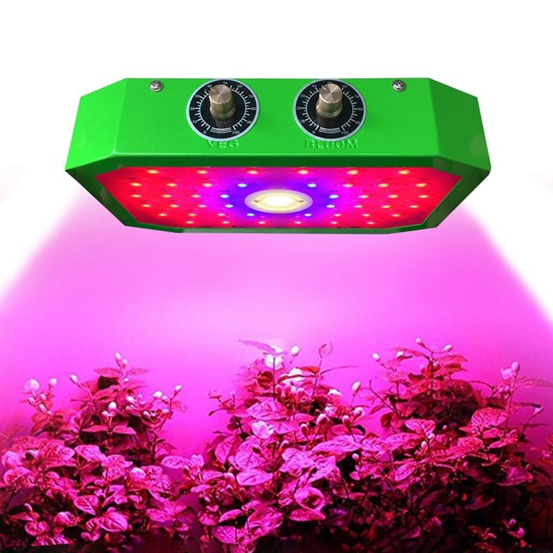 LED Plant Growth Lamp 1000W Full Spectrum Indoor Greenhouse Planting Tent Plant Growth Led Adjustable Light Source Lamp UK Plug