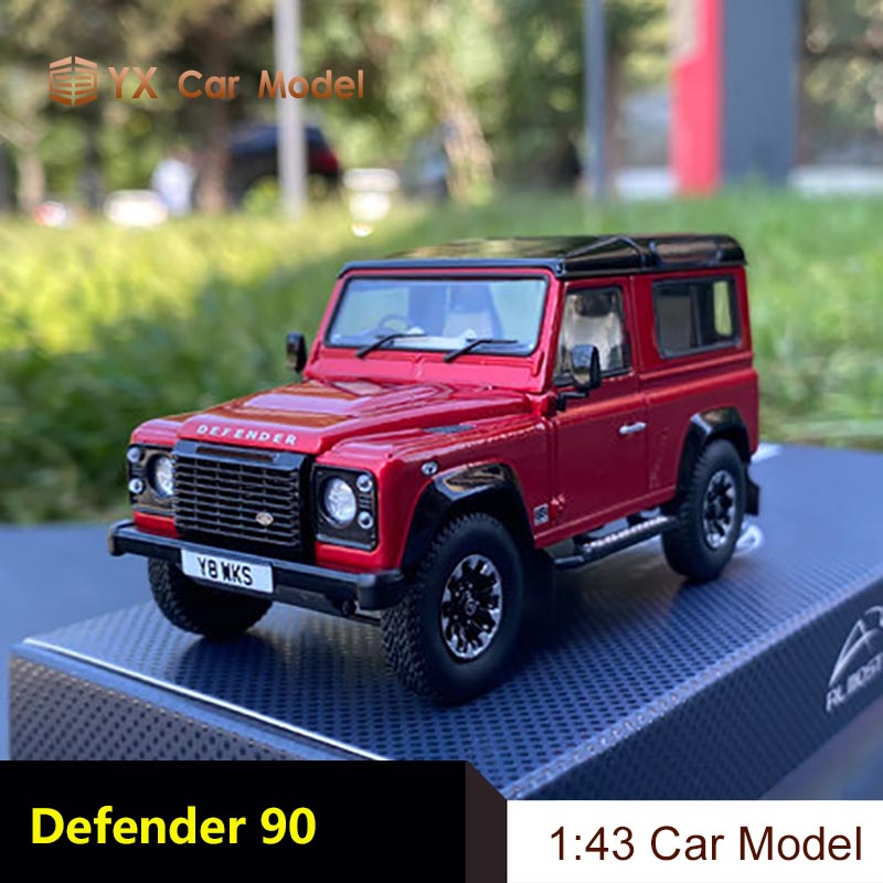 1//43 Alloy casting car model Range Rover Defender 90 Gift collection