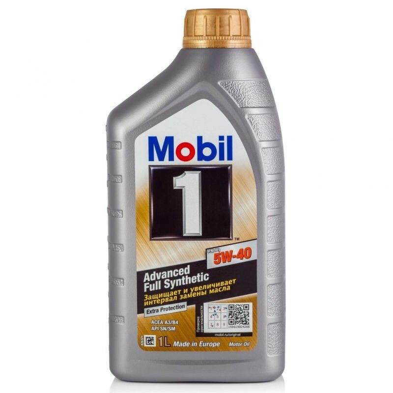 Масло моторное Mobil 1 FS X1 5W40 синтетическое 1 л 153266