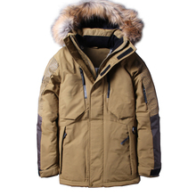 Boolili 2020 Winter Thick Warm Down Jacket Casual Long White Duck Down Coats with Hooded Natural Raccoon -35 Degree Outwear cheap Loose 1798 zipper Full Pockets 3D Print Wave Cut Epaulet Zippers Sequins Thick (Winter) Herringbone Acetate COTTON Polyester