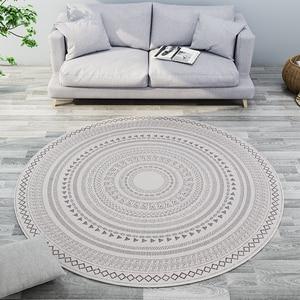 Moroccan Round Carpet Livingroom Modern Bedroom Carpet Computer Chair Round Rug Home Entrance/Hallway Doormat Study Floor Rug(China)