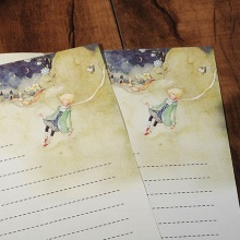 8 шт./компл. сказки Маленький принц история и ретро четыре сезона растения цветы живопись Письмо бумага канцелярские принадлежности для письма