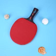 1 комплект ракетки для настольного тенниса ракетка для пинг-понга сумка в виде летучей мыши многоцветная портативная
