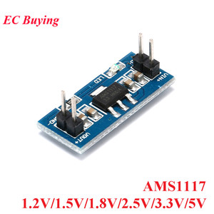 AMS1117 DC-DC Step Down Buck Power Supply Module For Arduino Raspberry pi DC DC 1. 2V 1. 5V 1. 8V 2. 5V 3. 3V 5V 800mA