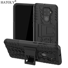 For Huawei Mate 30 Lite Case Shell Heavy Duty Hard Rubber Back Phone Cover for