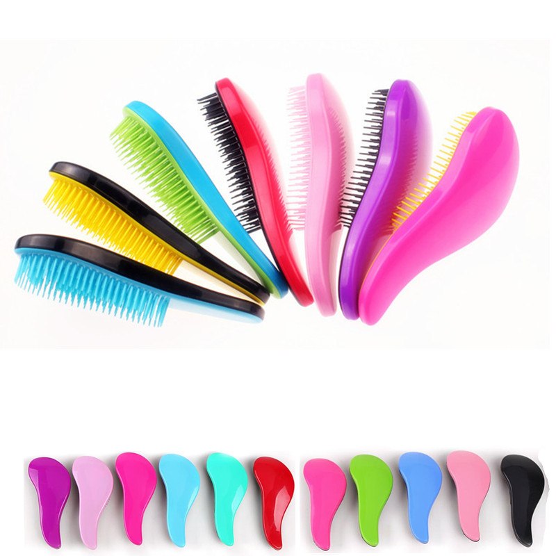 1 Pcs Combing Hair Brush Hairbrush  Anti Knot-static Hair Massage Repair Hair Combs Styling Tools (no Packaging)