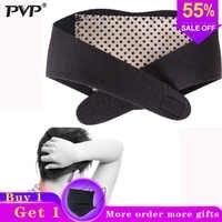 PVP 1Pcs brace Terapia magnética Auto-aquecimento Turmalina Pescoço guarda Cinto Envoltório Proteger cinto de banda de Apoio Do Pescoço Massageador cuidados de saúde
