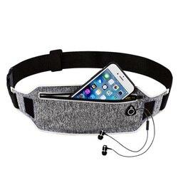 Профессиональный поясной ремень для бега, спортивный пояс для мобильного телефона, для мужчин и женщин, со скрытой сумкой, сумки для спортза...