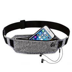 Профессиональный бег талии плюшевый пояс спортивный ремень мобильный телефон Для мужчин Для женщин с Скрытая сумка Сумки для зала