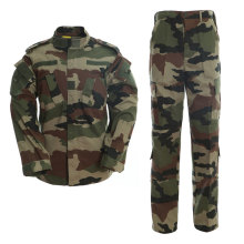 Military Uniform Camouflage Tactical Suit Men Army Special Forces Combat Shirt Coat Pant Set French Color Militar Soldier Cloth