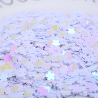 New 5*5mm Approx 500G/Pack Shine Sequin Flower Shiny Eye Face Body Glitter Fill In Glitter DIY Nail Art Decoration,1Yc7550
