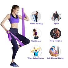 Unissex resistência bandas yoga puxar corda fitness puxar cinta alongamento yoga cintos banda de resistência ejercicio t @