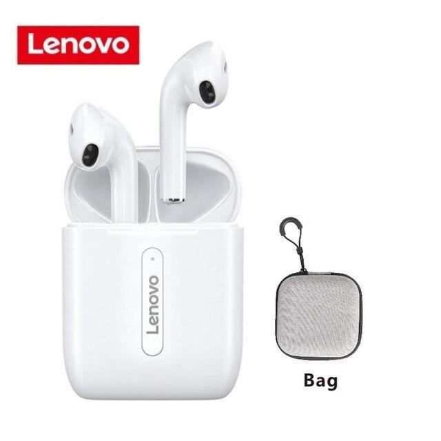 Lenovo LP1 LP2 TWS Kopfhörer Earbuds Bluetooth 5.0 Wireless Headphones B9D6