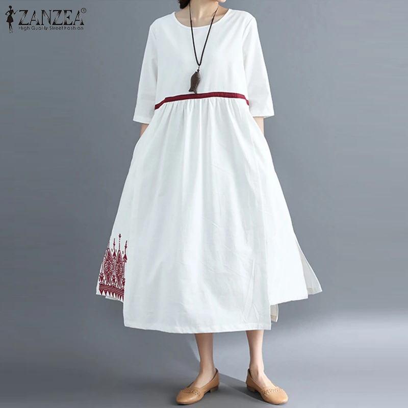 Embroidery Flowers Long Vestidos Zanzea 2020 Vintage Maxi Dress Bohemian Summer Sundress Cotton Long Shirts Pockets Robe Femme Dresses Aliexpress,Easy Spider Web Hair Design